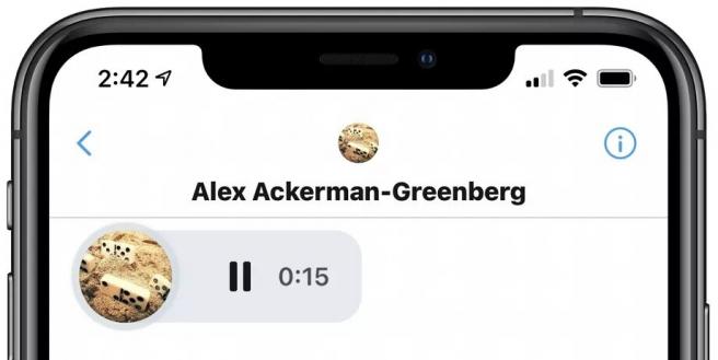 Alex Ackerman-Greenberg, gerente de producto para mensajes directos en Twitter, confirmó los mensajes directos de voz... mediante un mensaje directo de voz.