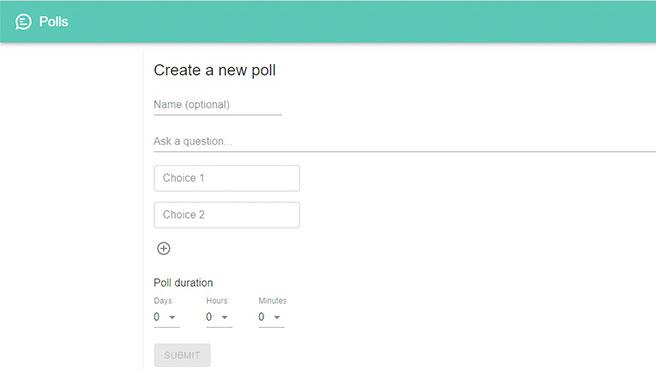 Diseña tu encuesta para WhatsApp directamente desde la web
