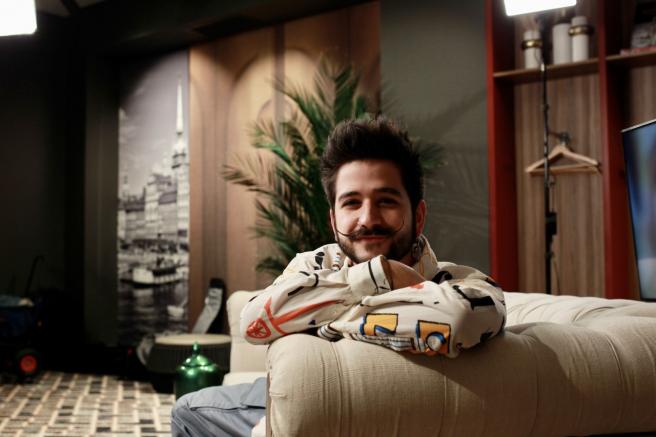 El artista colombiano Camilo.