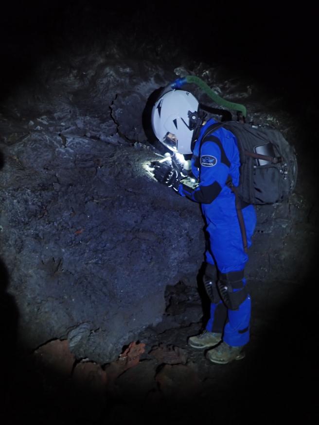 Buscan restos biológicos como lo harían en Marte