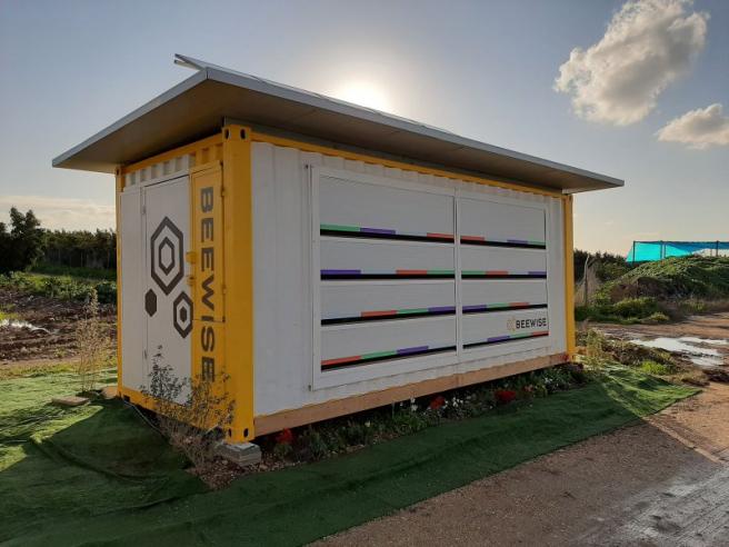 Beehome cuesta 15 dólares al mes y puede albergar 2 millones de abejas.