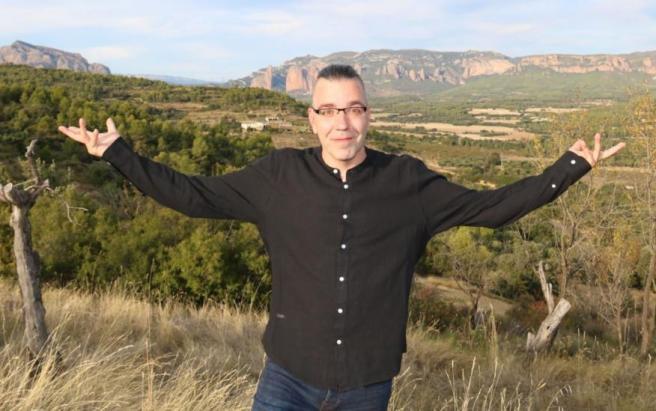 Este es Alejandro Hernández, uno de los impulsores de Ruralmind.