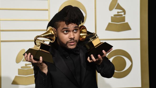 The Weeknd, en la ceremonia de los premios Grammy de 2016.