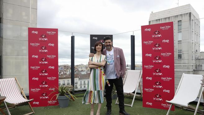Tony Aguilar y Julia Varela, en 2019.