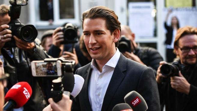 Sebastian Kurz, cabeza visible del Partido Popular de Austria y canciller del país desde 2017.