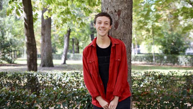 El cantante y youtuber David Rees.