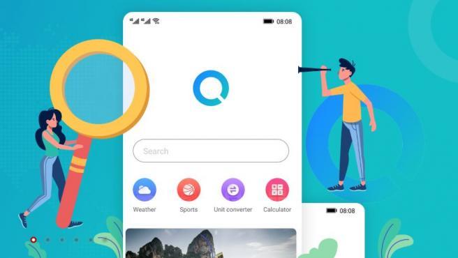 El nuevo servicio de buscador se llamaría Huawei Search.