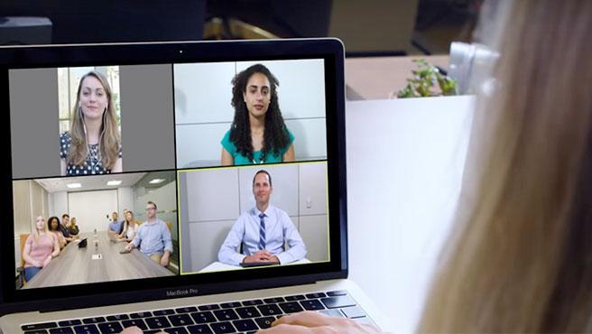 Zoom está siendo muy utilizada para reuniones de trabajo por la impuesta cuarentena.