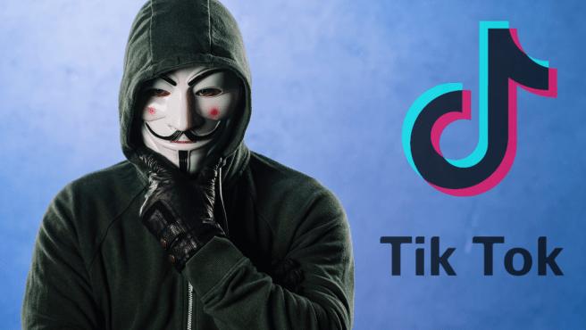 En un supuesto perfil de Twitter de Anonymous, se ha acusado a TikTok de espionaje.