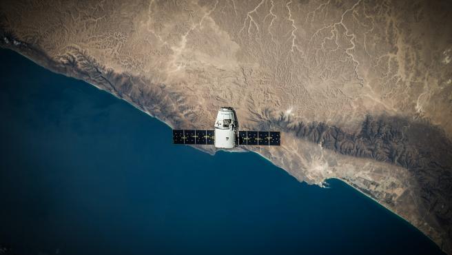 Imagen de archivo de un satélite.
