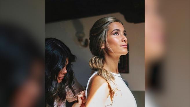 María Pombo vuelve a trabajar como modelo