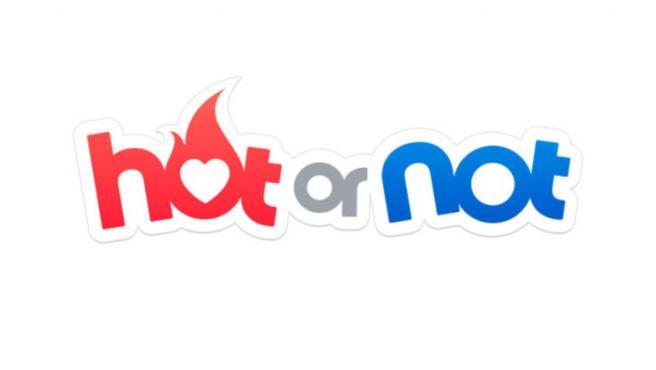 El actual logo de HotorNot.
