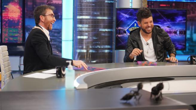 Pablo Motos y Pablo López, en 'El hormiguero'.