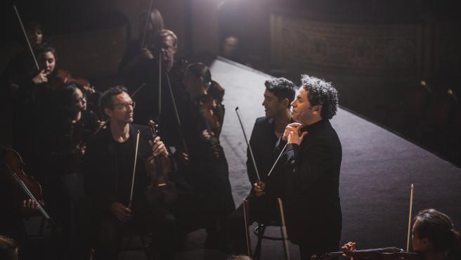 Gustavo Dudamel, al frente de la Mahler Chamber Orchestra.