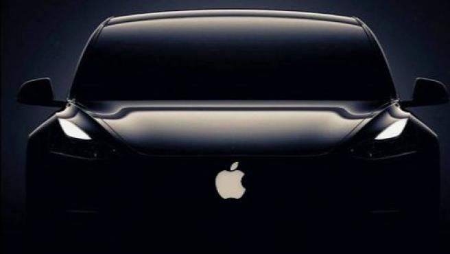 Recreación de cómo podría ser el Apple Car.