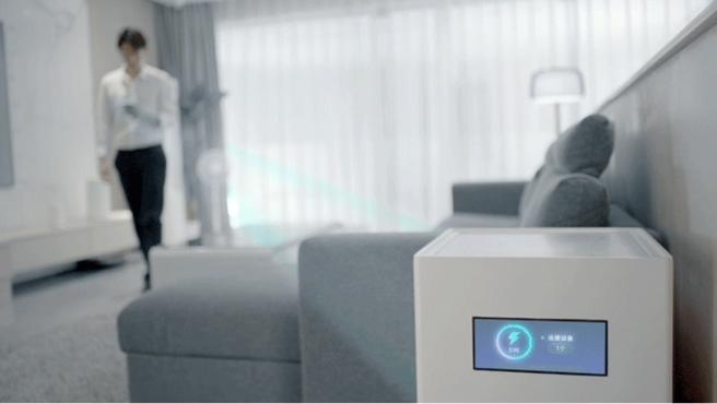 Mi Air Charge permite cargar diferentes dispositivos a la vez a varios metros con una potencia de 5W.