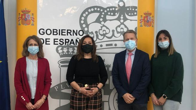 Reunión con responsables del Colegio Oficial de Médicos de Jaén.