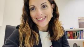 La doctora Juncal Sevilla Vicente, psiquiatra en el Hospital Universitario Fundación Jiménez Díaz y en el Hospital Ruber Internacional.