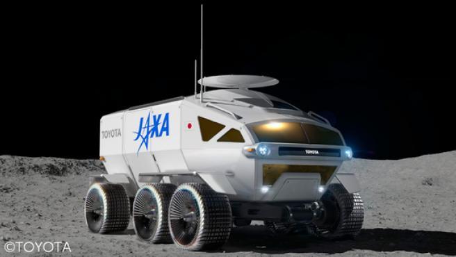 Este es el diseño prototipo del vehículo lunar.