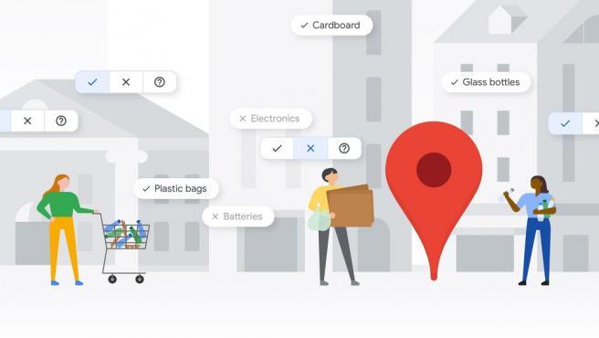 Google Maps tiene 3 formas de encontrar y apoyar lugares que reciclan.