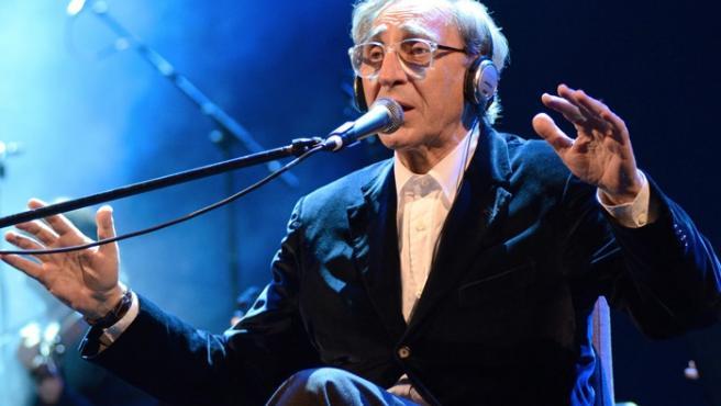 Franco Battiato in concert