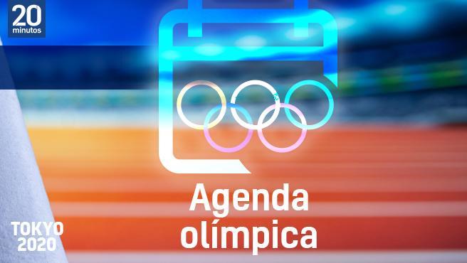 Agenda olímpica del día.