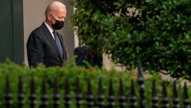 El presidente de EE UU Joe Biden este fin de semana.