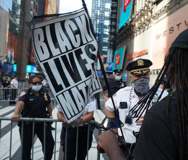 Protests over George Floyd death in New York