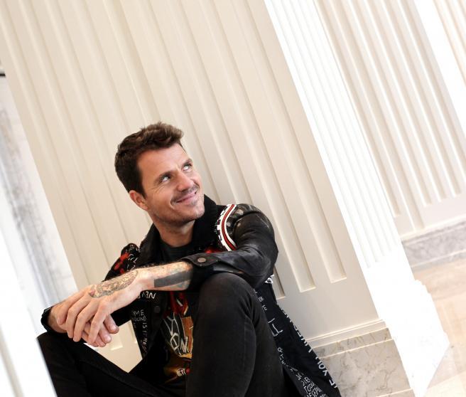 El cantante Dani Martín posa para '20minutos'.