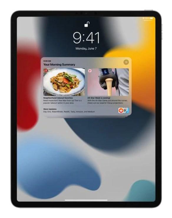 Notifications on iPadOS 15