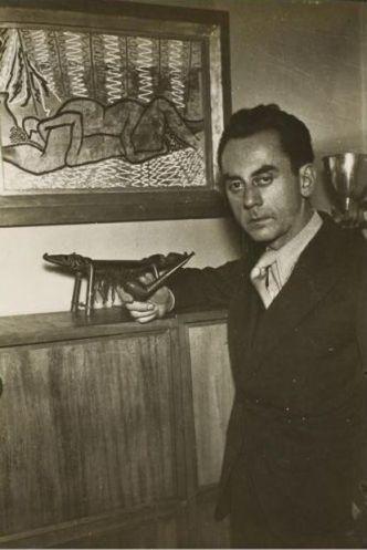 Self-portrait of Man Ray, made around 1934.