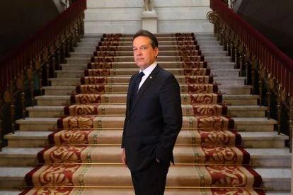 Víctor Bisonó, ministro de Industria de la República Dominicana.