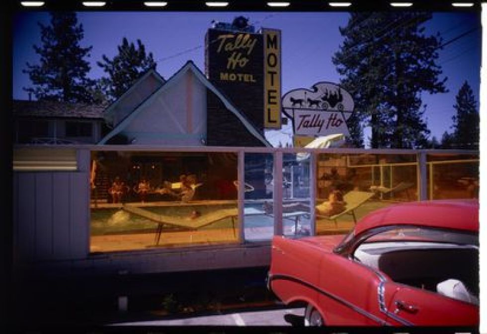 Garry Winogrand color photograph from 1964.