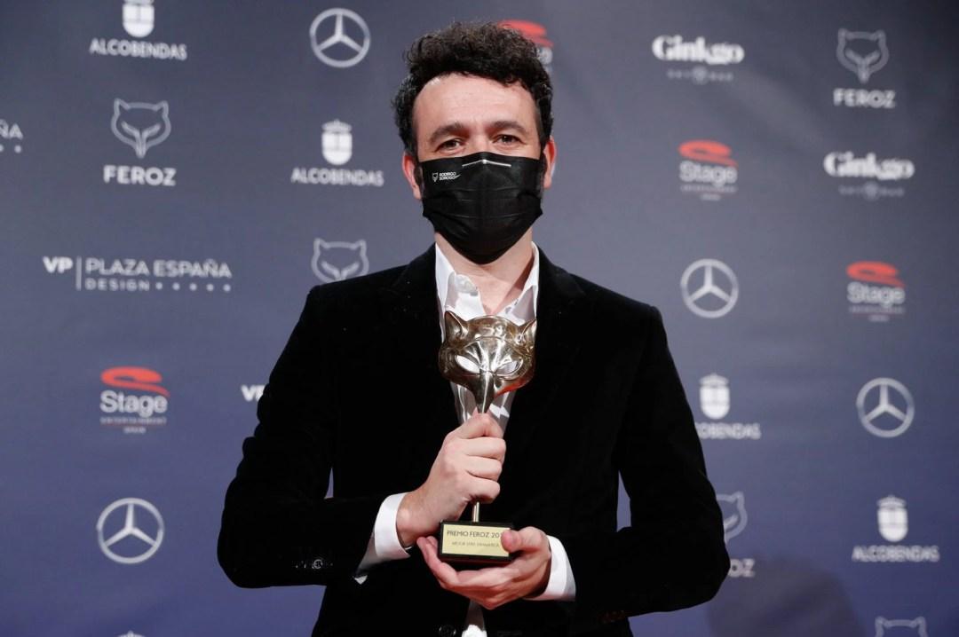 Rodrigo Sorogoyen, con el Feroz a mejor serie dramática por Antidisturbios.