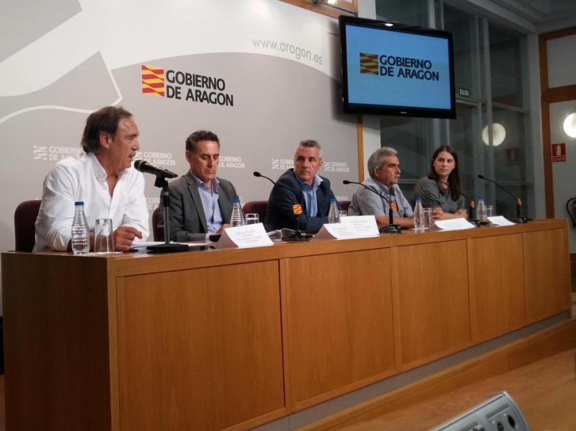 Presentación de la Copa de España y el Campeonato de España máster de piragüismo.