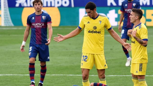 El uno a uno de la derrota de la SD Huesca ante el Cádiz