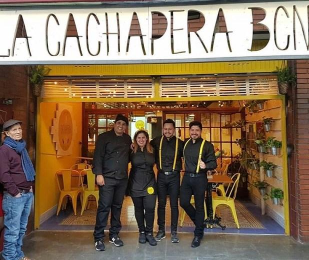Díaz reconoce que le gustaría llevar a La Cachapera hasta otras ciudades de España y de Europa.