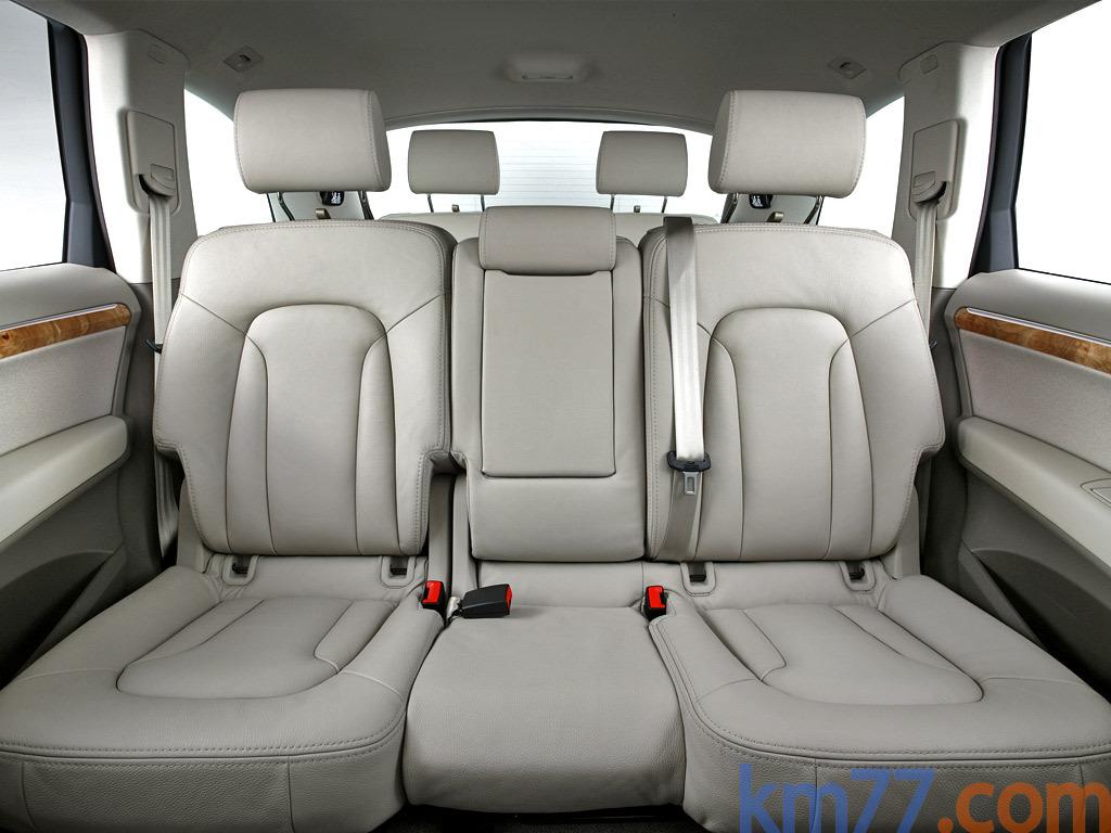 Fotos Interiores Audi Q7 2006