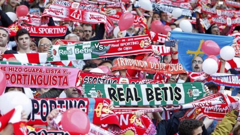 El hermanamiento funcionó: el Sporting aprovechó el favor del Betis para  salvarse