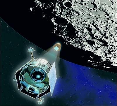 La sonda del proyecto LCROSS'.