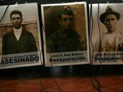 Desaparecidos durante la represion de la dictadura.EFE