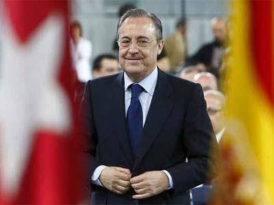Florentino Pérez, en un acto hace unos días. EFE