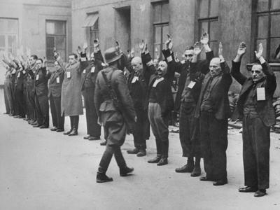 La mayoría de los 400.000 judíos del gueto de Varsovia fueron exterminados a partir de 1942.