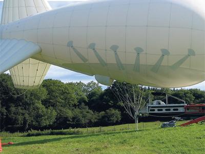 Imagen del globo aeroestático que se iba a usar en el proyecto británico SPICE.