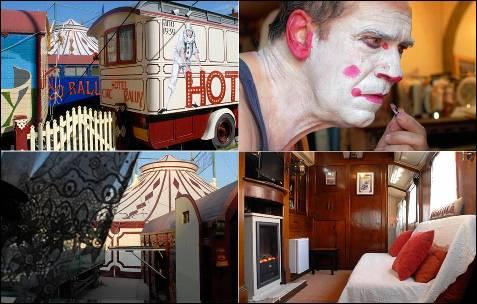 Para dormir y disfrutar del mayor espectáculo del mundo, el hotel Circo Museo Raluy.