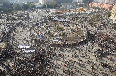 Vista general de los enfrentamientos. REUTERS/Amr Abdallah Dalsh