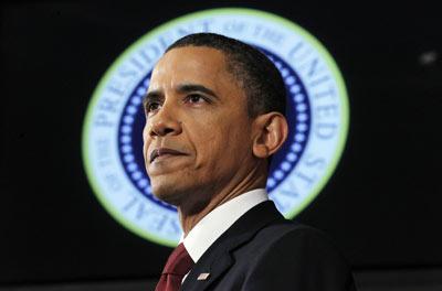 Barack Obama, durante su discurso en la National Defense University. - CHARLES DHARAPAK