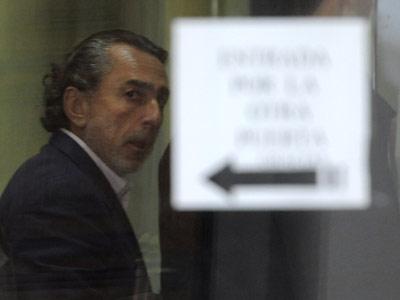 Francisco Correa, durante una comparecencia en los juzgados. dani pozo