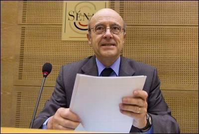 Alain Juppé, ministro de Asuntos Exteriores de Francia, en una imagen reciente.