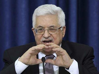El presidente palestino, Mahmud Abás.-